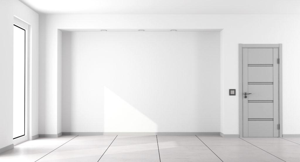 intérieur de maison minimaliste